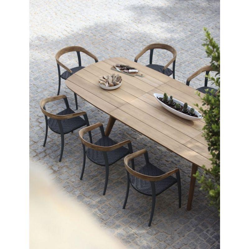 Royal Botania Jive Armlehnstuhl Jive Outdoor Essgruppe Gartentisch Terassenentwurf Tische Im Freien