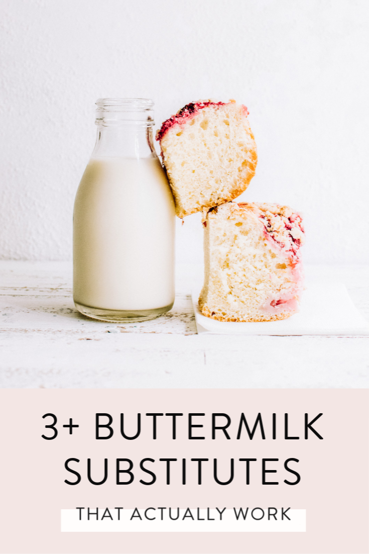 3 Foolproof Buttermilk Substitutes That Actually Work Buttermilk Substitute Almond Milk Yogurt Buttermilk