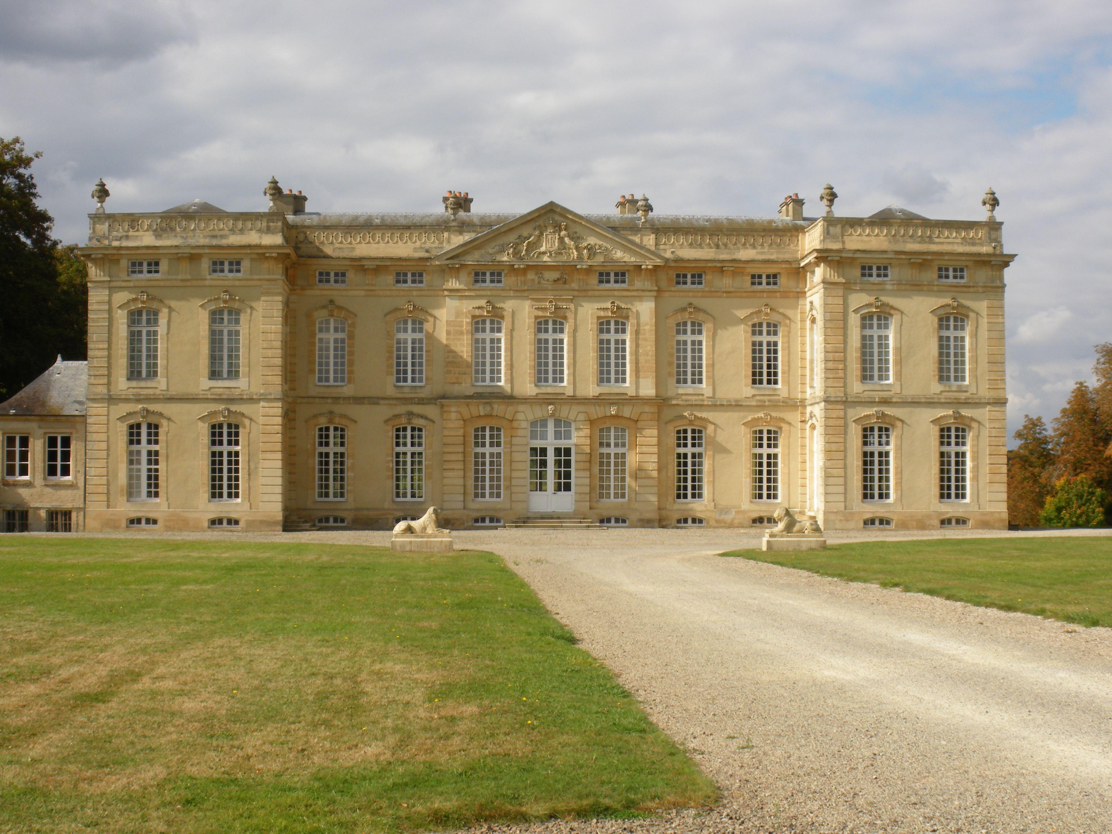 Ch¢teau du Jonchet résidence d Hubert de Givenchy Romilly sur
