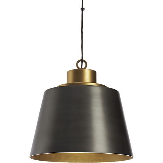 Liberty pendant light in view all lighting cb2