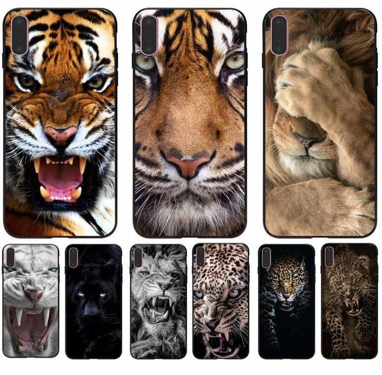 Personalized big cat print phone case for all iphone