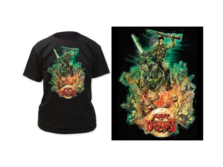 #transformer Army of Darkness Graham Humphreys Design T-Shirt