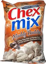 Chex Mix Muddy Buddies are back!    Google Image Result for http://www.taquitos.net/im/sn/ChexMix-Muddy.jpg