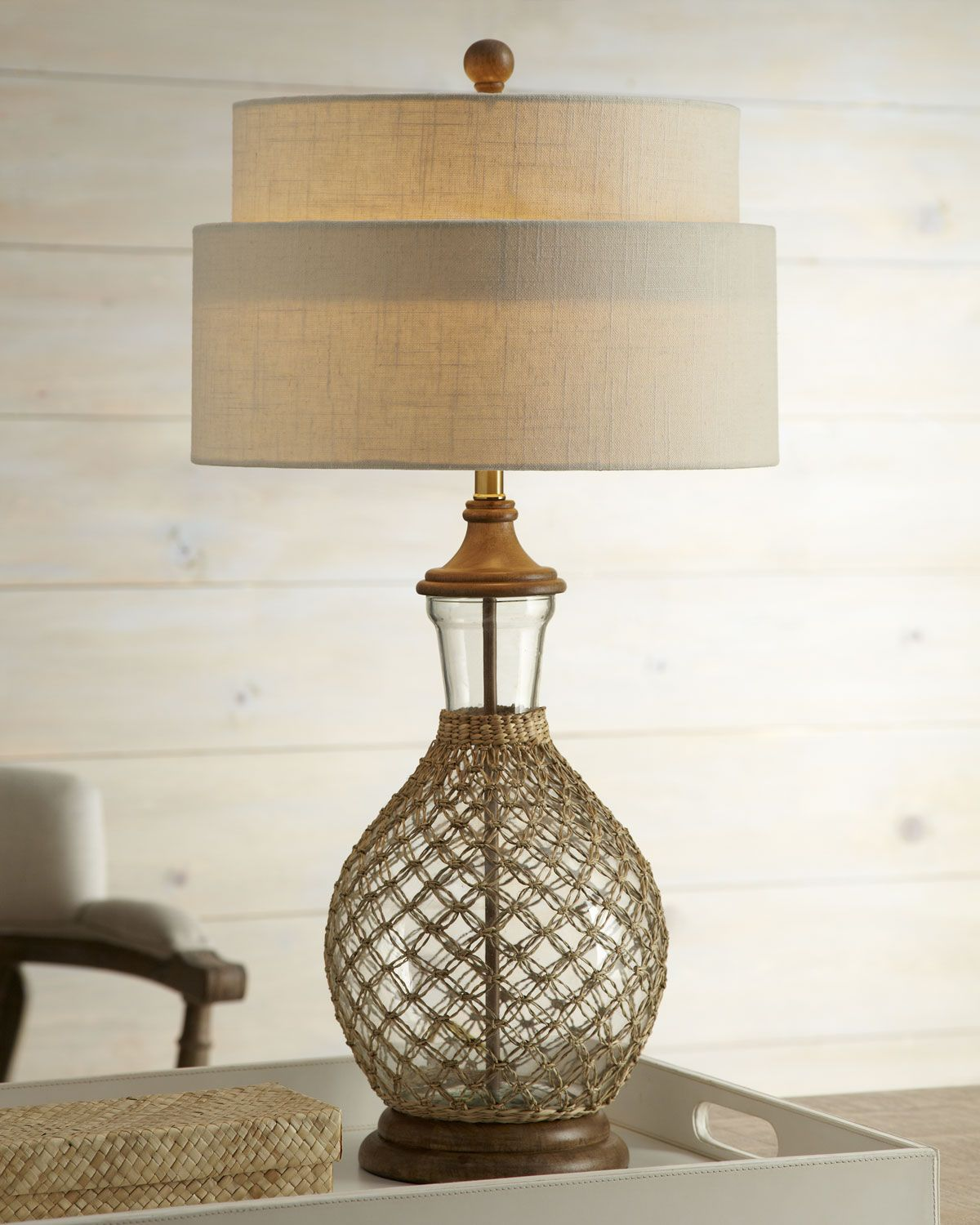 Superb Sawgrass Table Lamp   Horchow
