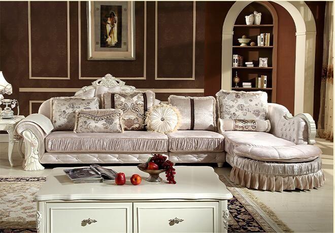 U Best Simple European Style Sofa Corner Detachable Large Sized Apartment Living Room Brand