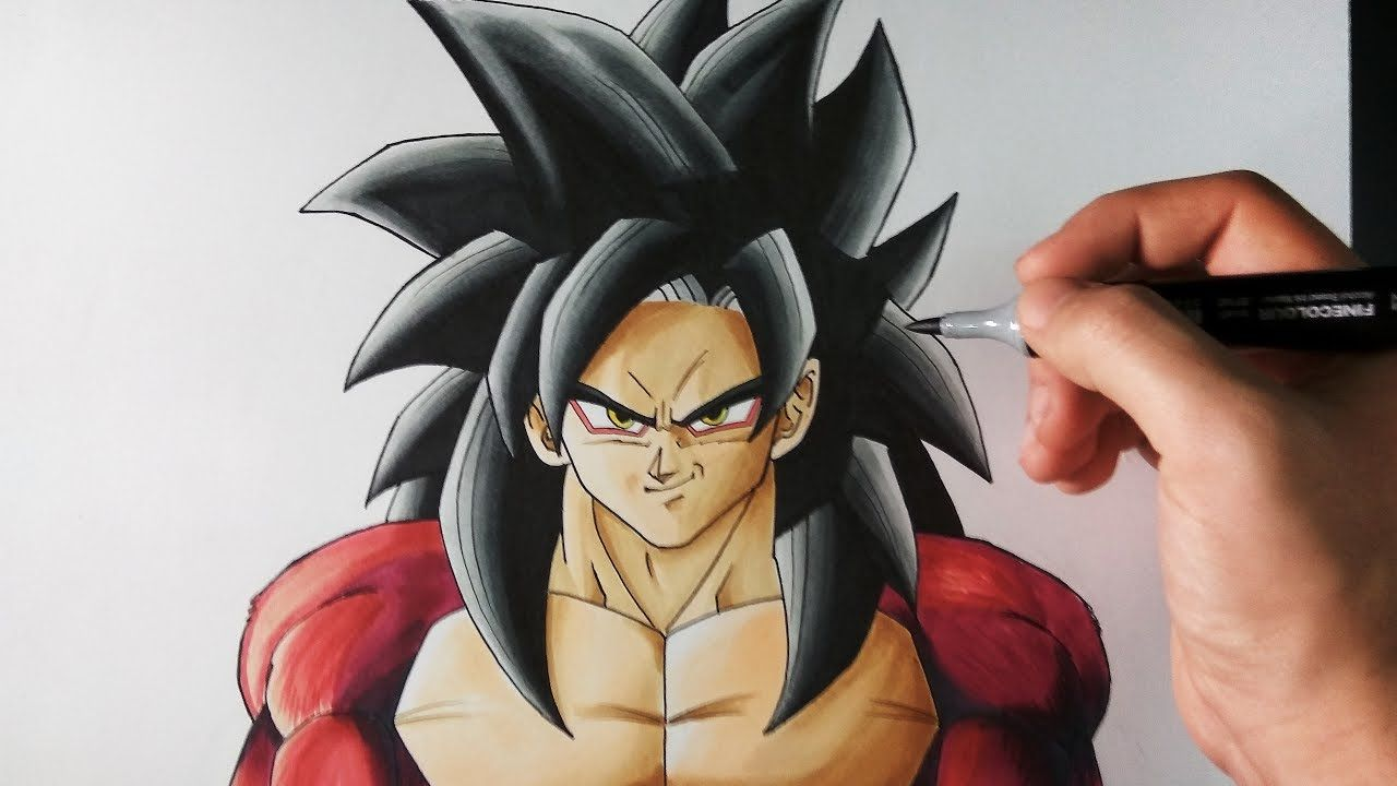 Cómo Dibujar A Goku Ssj4 Sorteo Internacional Artemaster Cómo Dibujar A Goku Dibujo De Goku Dibujos