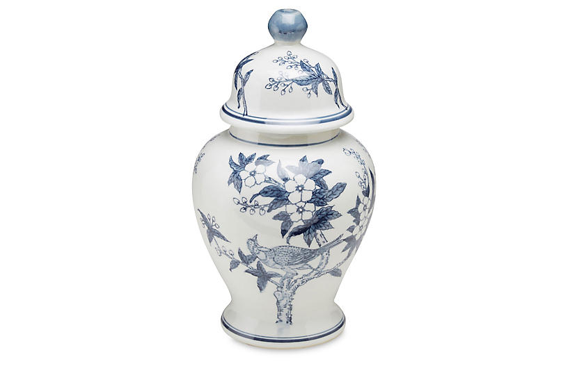 15 Ceramic Ginger Jar Blue White Ginger Jars Porcelain Decor Unique Vases