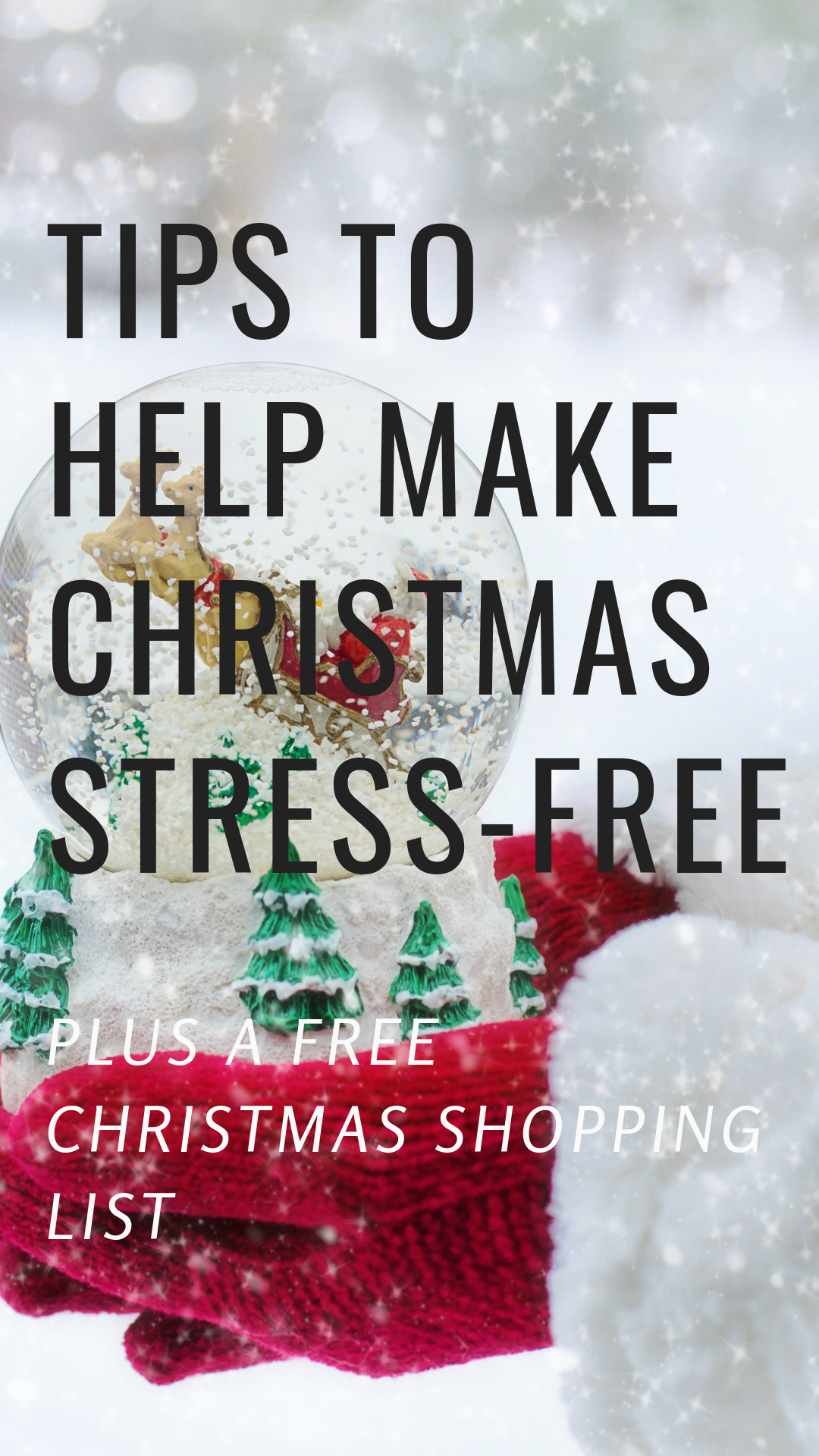 How To Have A Stress Free Christmas And Enjoy The Holidays Plus
