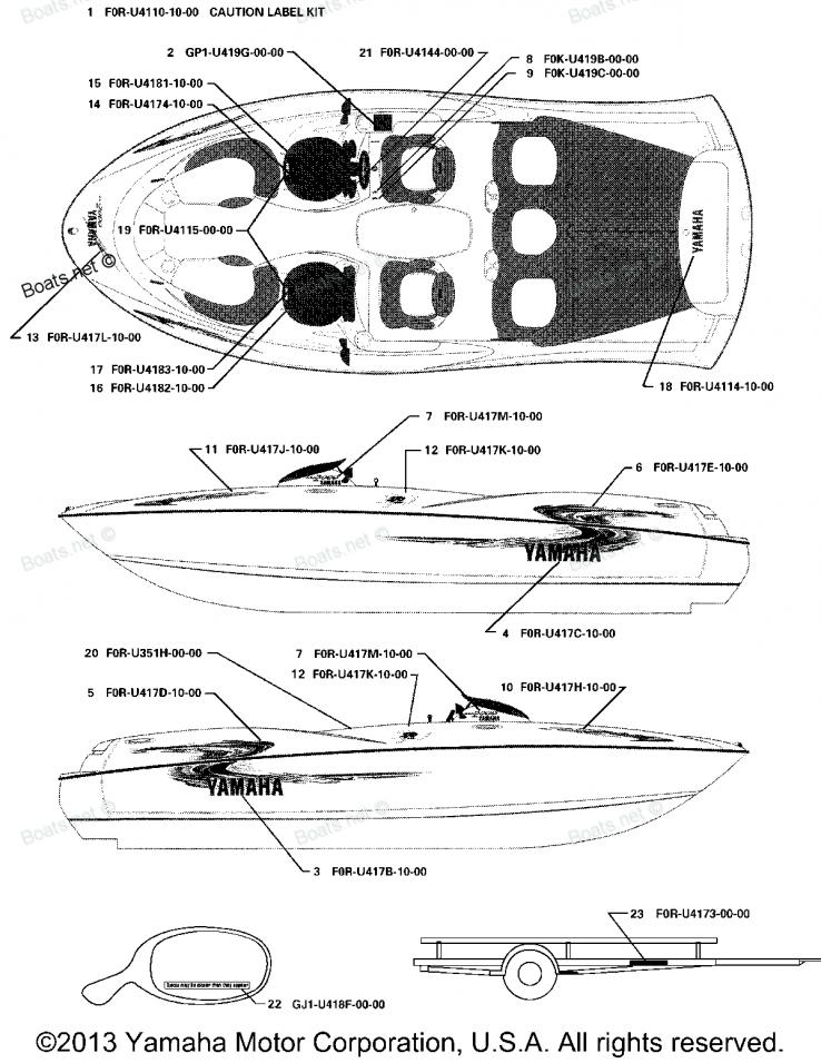 of 2000 ls2000 lst1200y yamaha boat graphics diagram and parts rh pinterest com Yamaha LS2000 Tower Yamaha LS2000 Tower