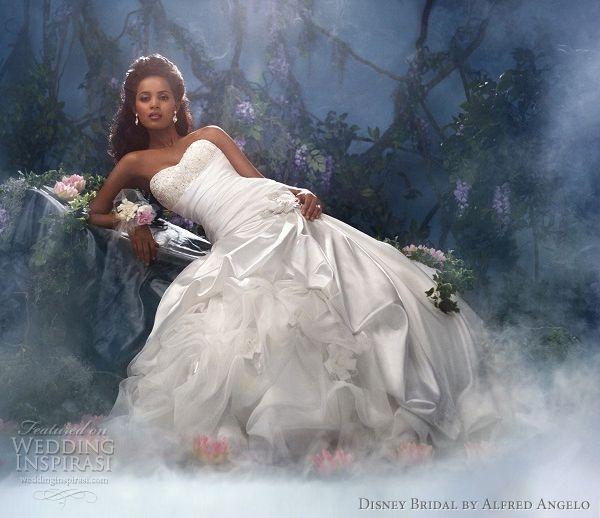 Disney Fairy Tale Weddings by Alfred Angelo 2012 — Princess Bridal ...