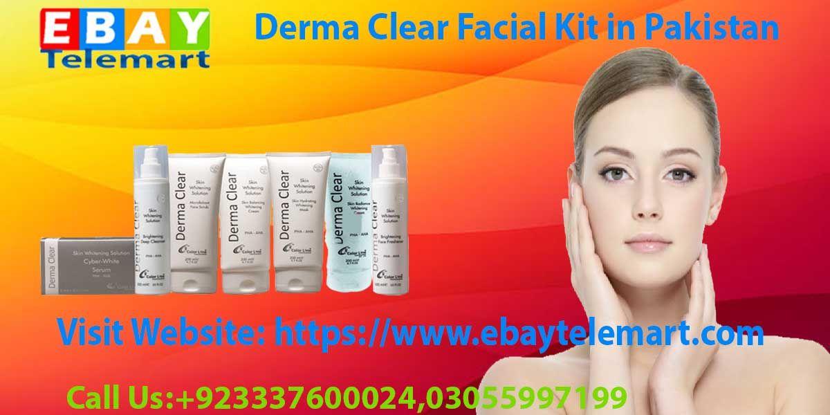 Derma Clear Facial Kit Price in Pakistan 03055997199