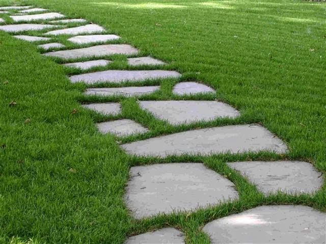 Related Image Pathway Landscaping Small Garden With Stones Garden Stepping Stones