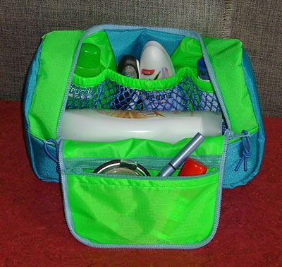 Neceser Organizador | bolsas em tecido | Pinterest | Kulturbeutel ...