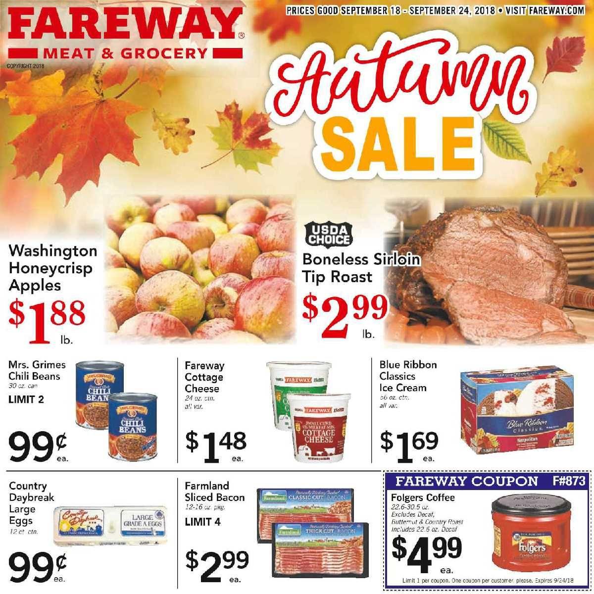 Fareway Weekly Ad Flyer January 15 21, 2019 Weekly ads