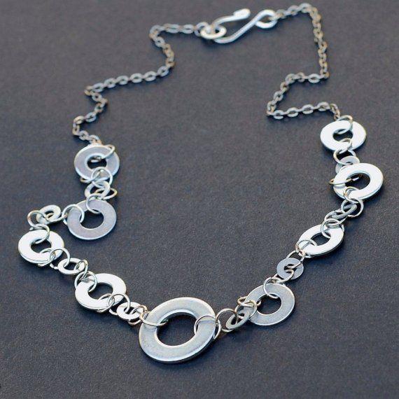 Washer Hardware Necklace