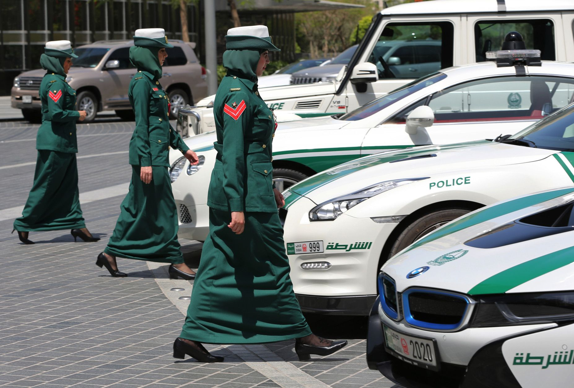 Dubai Women Police Squad Dubai, Police, Sports cars luxury
