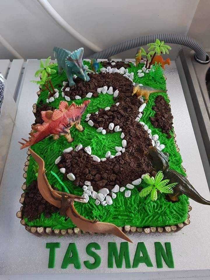 Dinosaur Birthday Cake Inspiration Make My Cake Pinterest