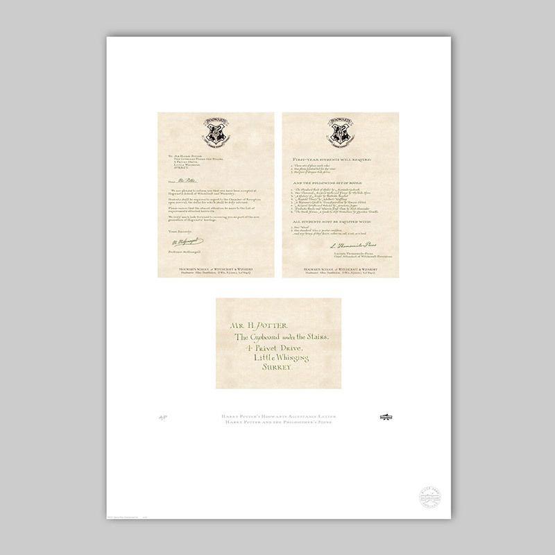 Harry Potteru0027s Hogwarts™ Acceptance Letter - MinaLima Store - hogwarts acceptance letter