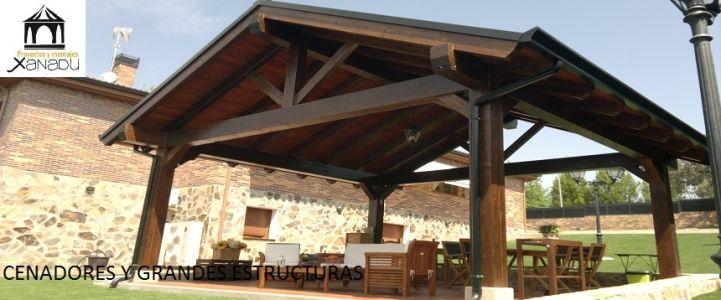 CENADORES A UN AGUA,DOS,CUATRO CENADORES Pinterest Cenadores - terrazas en madera