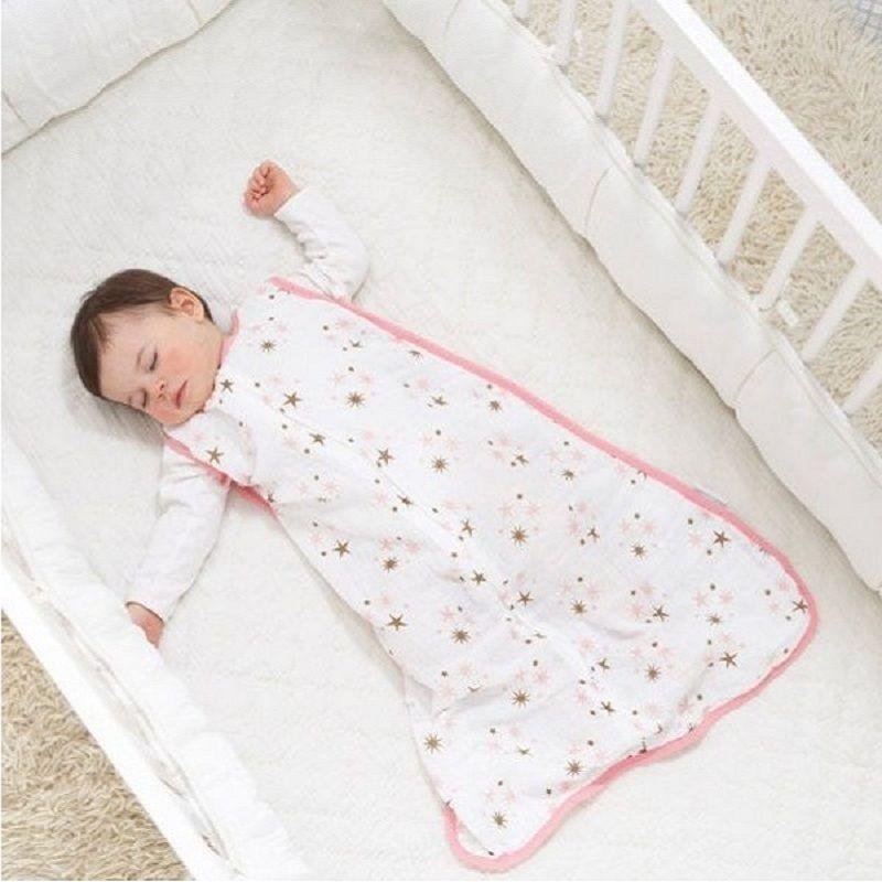 100% Musselin Aden Anais Baby Dünnen Schlafsack Für Sommer Bettwäsche Baby  Saco De Dormir Para