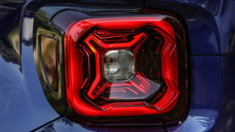 2019 Jeep Renegade Previewed By Taillight Photo Jeep Renegade