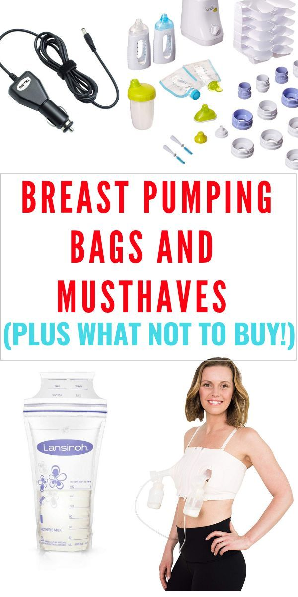 Best and Worst Breast Pump Bags and pumping accessories