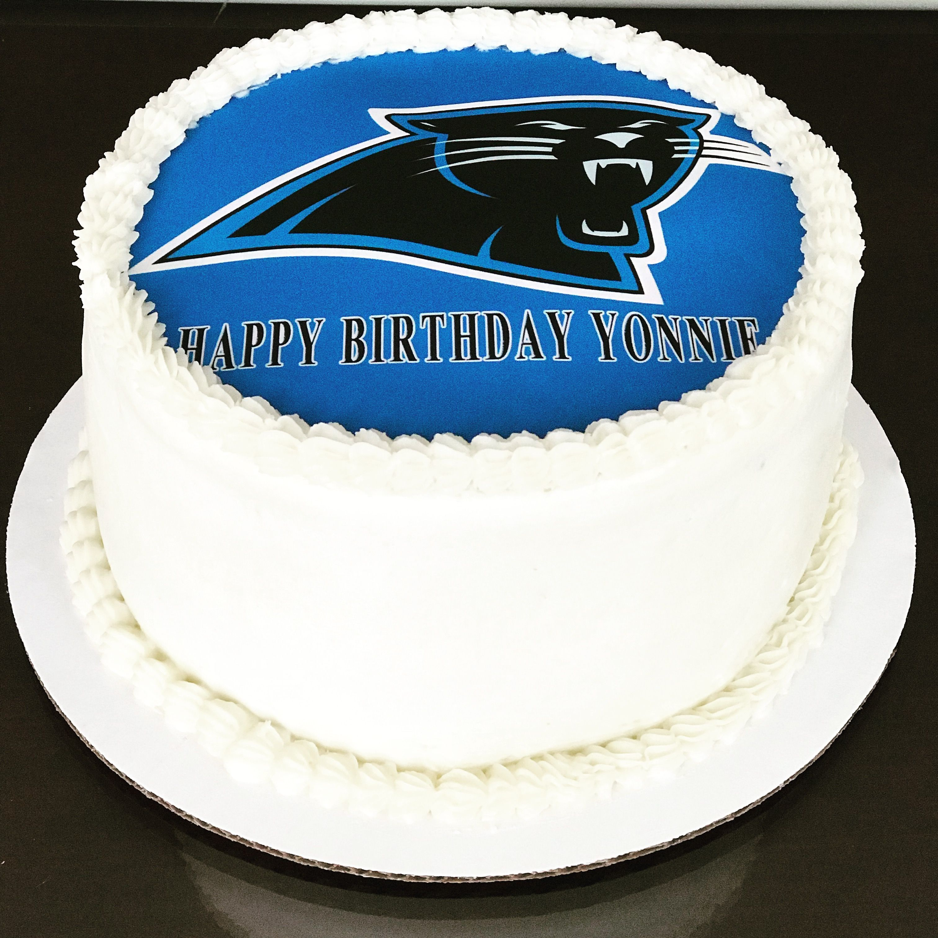 Panthers Birthday Cake Panthers Madefromscratch Birthday