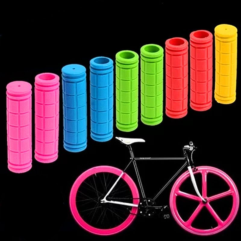Grips Bicycle MTB BMX Road Mountain Bike Soft Rubber