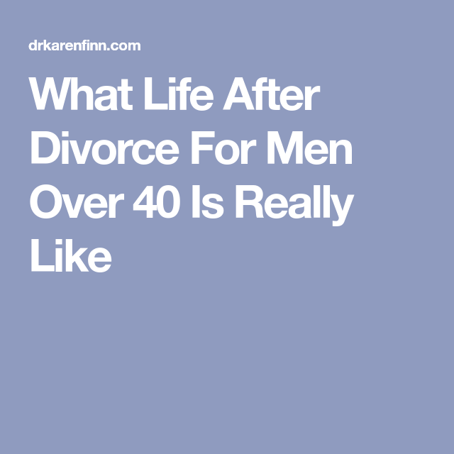 Life after divorce for women over 40