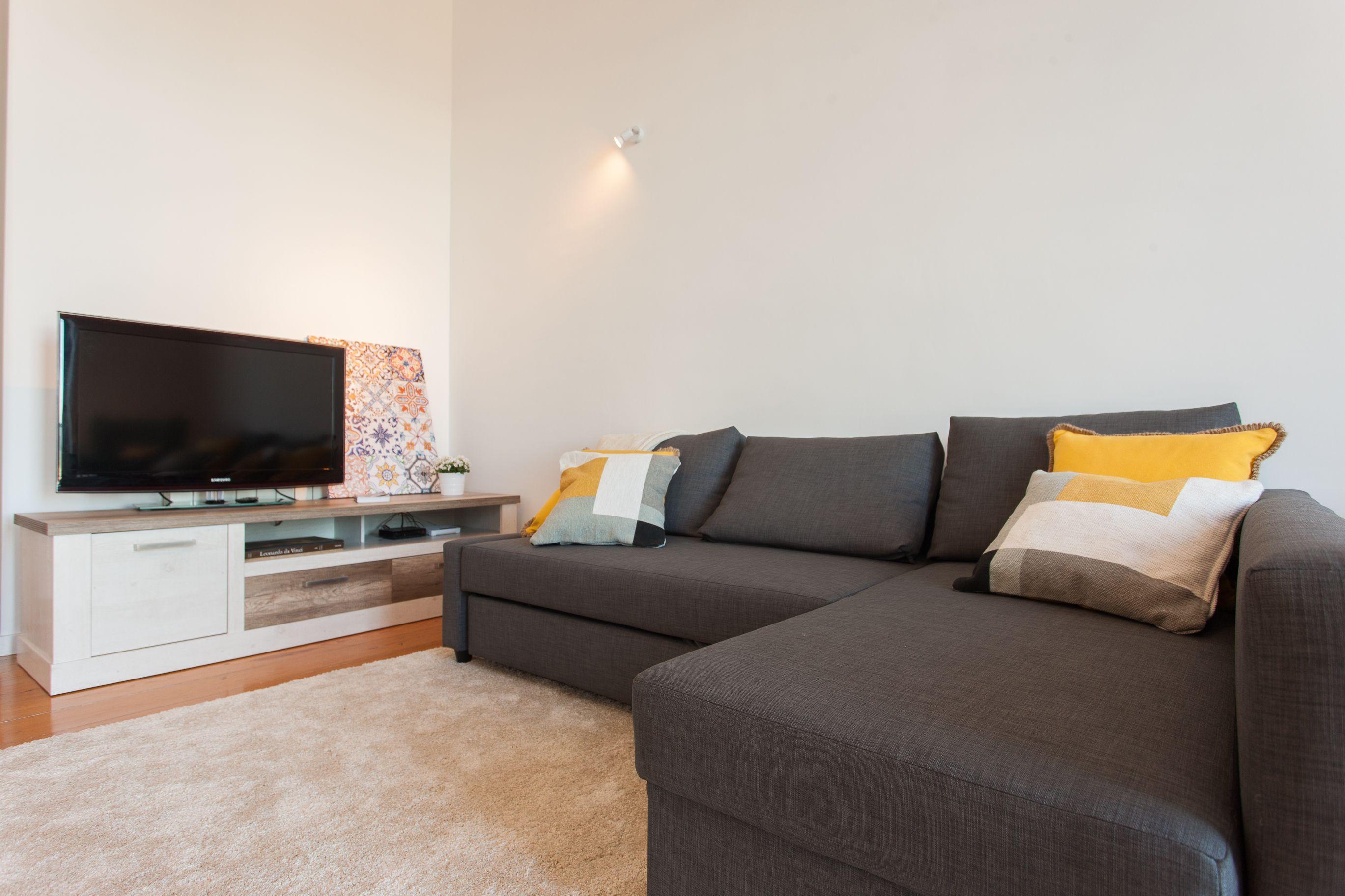 Sala de estar e jantar D'CASTRO Apartment - Rua Cais de Santarém nº32 1ºesq. NO AirBnB