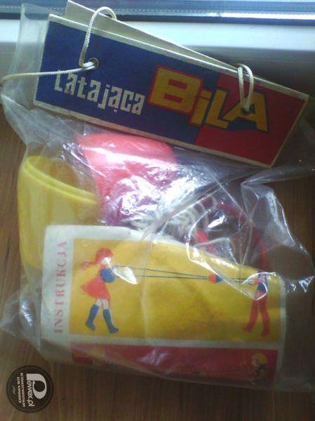 Latająca Bila – Zabawka nie otwierana  od lat 80 :)