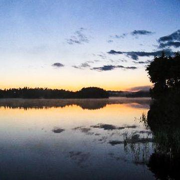 Was für ein Seeblick vom Ferienhaus direkt am See in