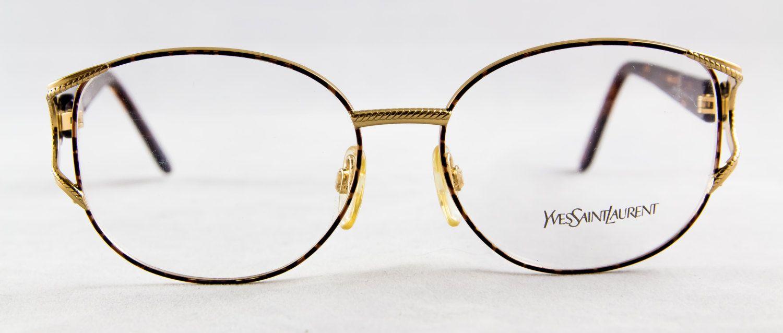 2a617ffeffce New old stock YVES SAINT LAURENT eyeglass frame Metal Tortoise color Ornate  hinge Gorgeous Stunning High fashion by FrameSolutions on Etsy