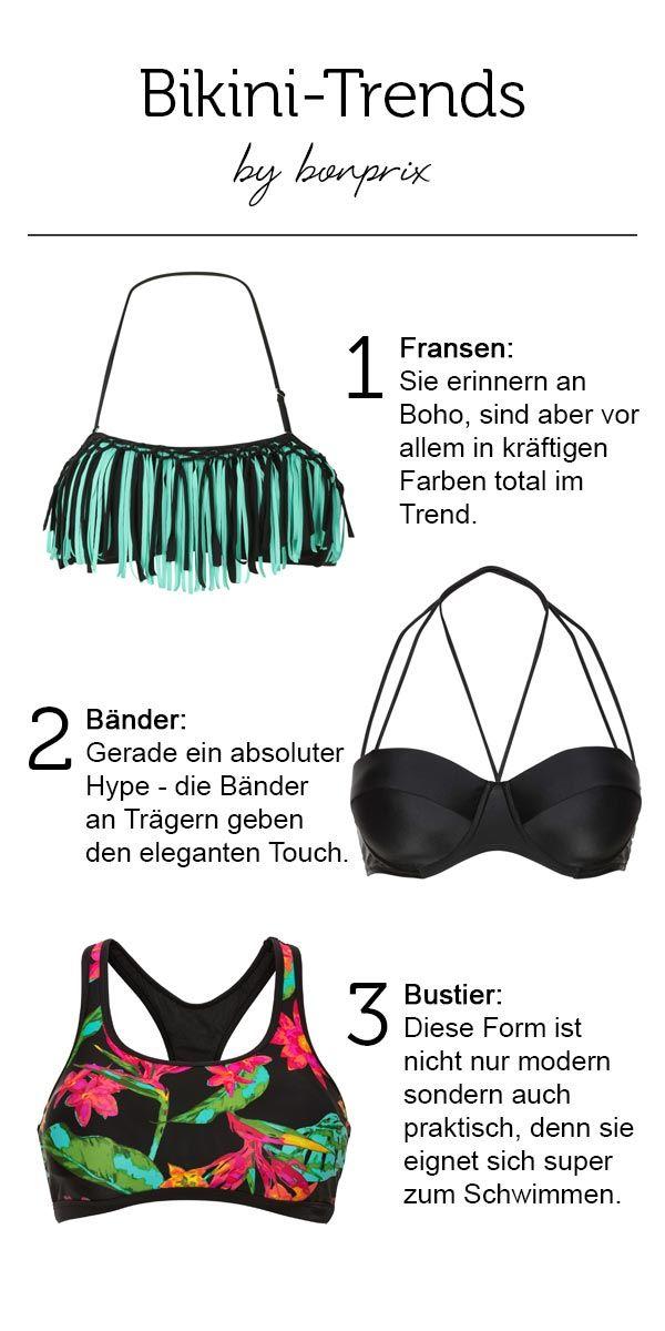 e06a3cbdb7455 Bikini-Trends by bonprix, 1. Fransen: Sie erinnern an Boho, sind ...