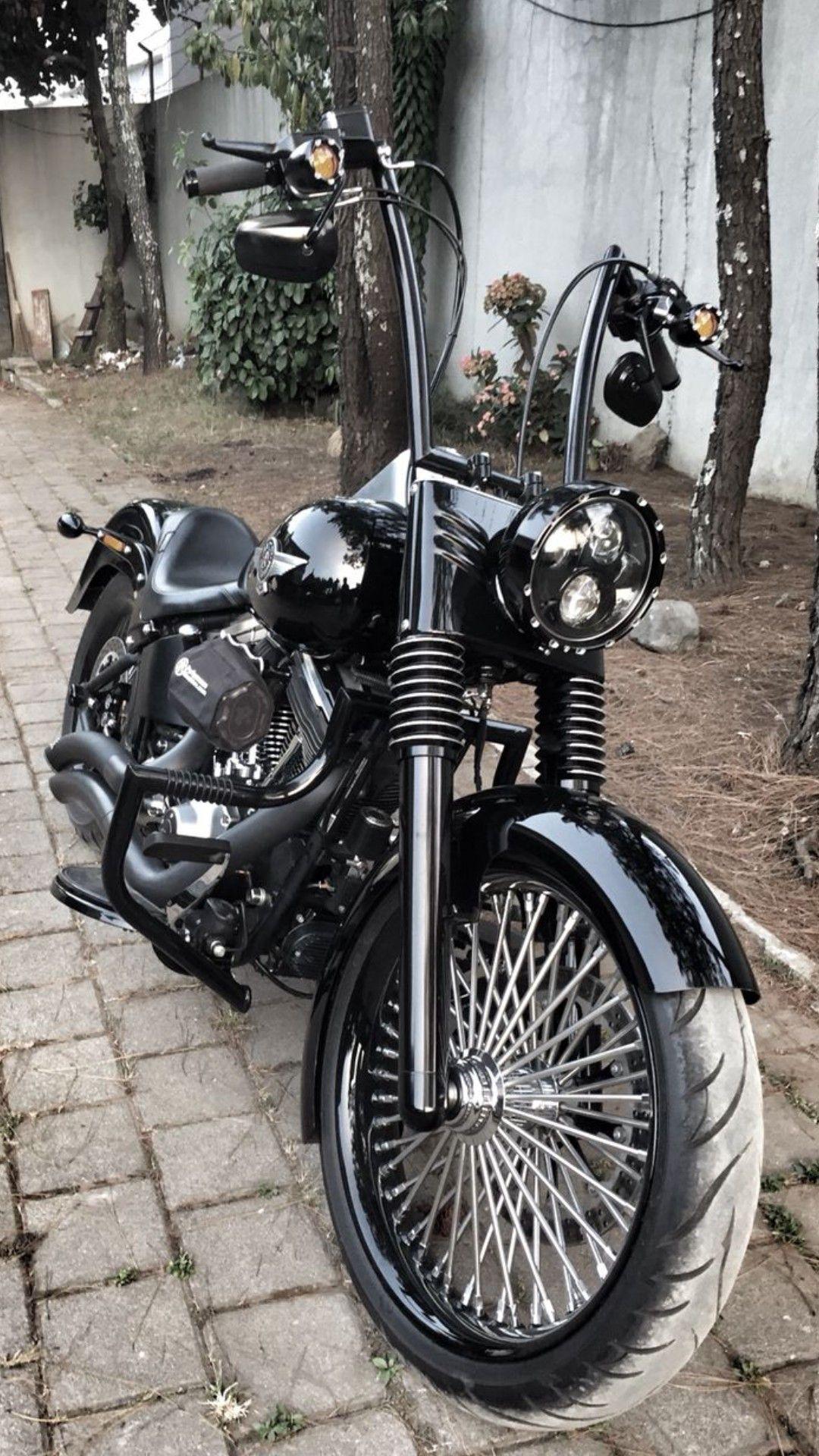Harley Bobber Davidson Motorcycles Fatboy Custom Bikes Pictures Harleys