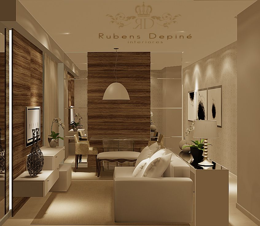 Rubens Depine Salas Pequenas Espacos Pequenos Design Da Sala