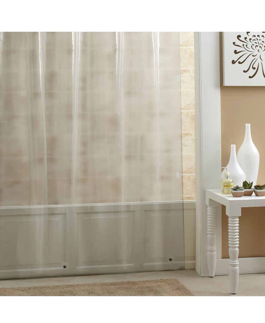 Excell Mildew Resistant Peva 70 X 72 Shower Curtain Liner