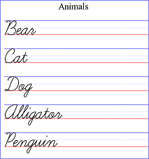 Handwriting Worksheet Generator Free Online Resource With