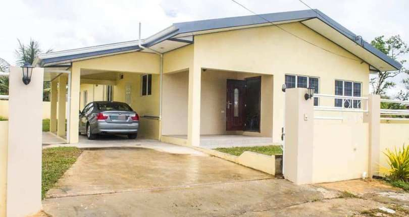 For Sale Brand New 3 Bedroom House Manuel Congo Tumpuna South Trinidad Real Estate Sale House 3 Bedroom House House Prices