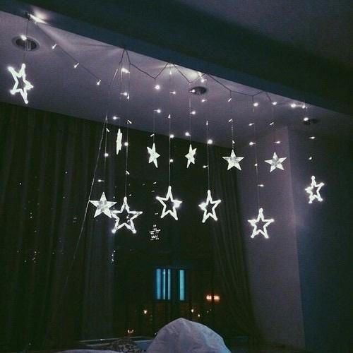Glow, Neon, Stars