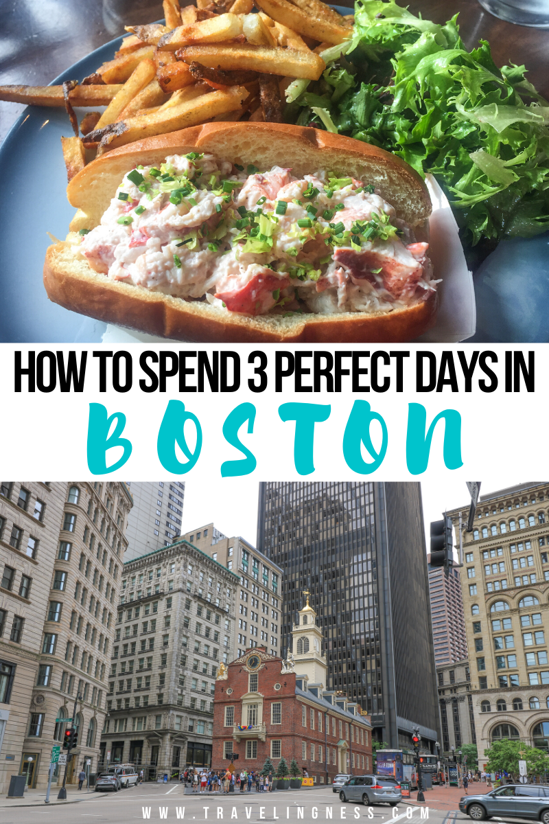 Boston, Massachusetts has a rich history with the most beautiful parks, the Charles River and cobblestoned streets that are a must to see in Spring, Summer and Fall. Follow this perfect 3 day Boston itinerary for the best things to do, food to eat and where to stay on your trip! #boston #bostontravel #newengland  #usatravel #massachusetts