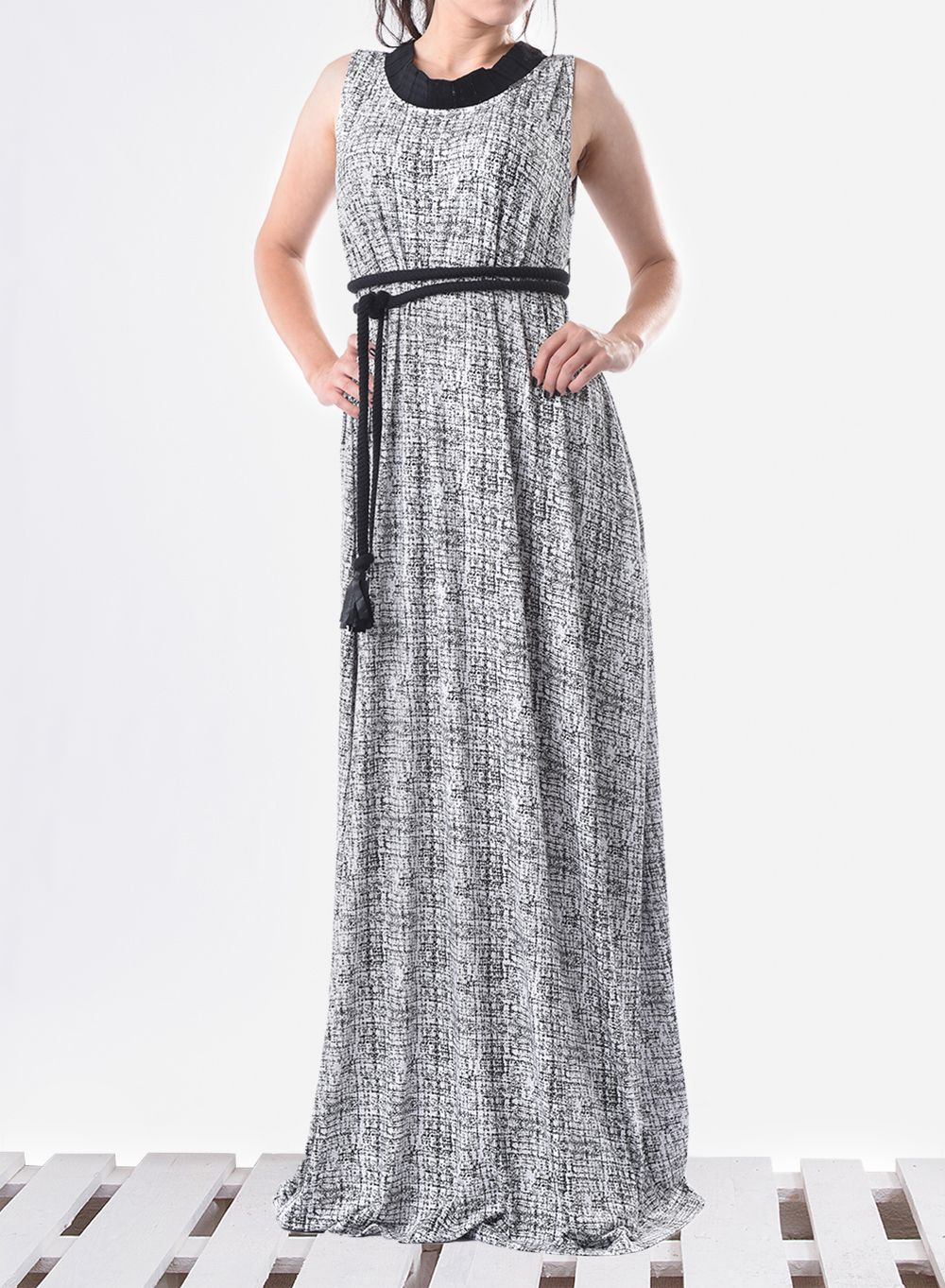 Maxi kaftan long kaftan sleeveless dress maxi dress with belt