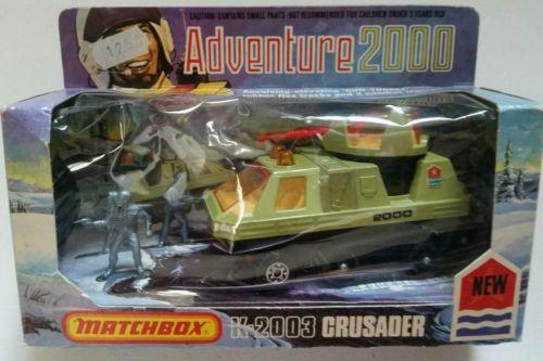 Matchbox-Lesney-1976-Adventure-2000-K-2003-Crusader-w-Box-Vintage-New-Old-Stock