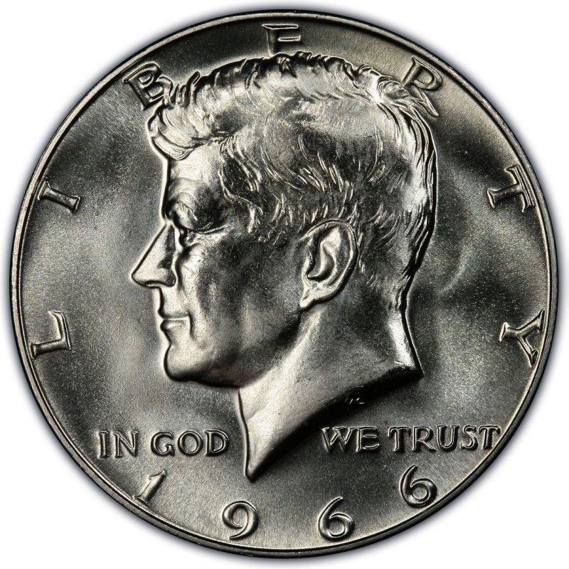 1966 Kennedy Half Dollar Roll Brilliant Uncirculated Bu 20 Coins Half Dollar Kennedy Half Dollar Half Dollar Coin
