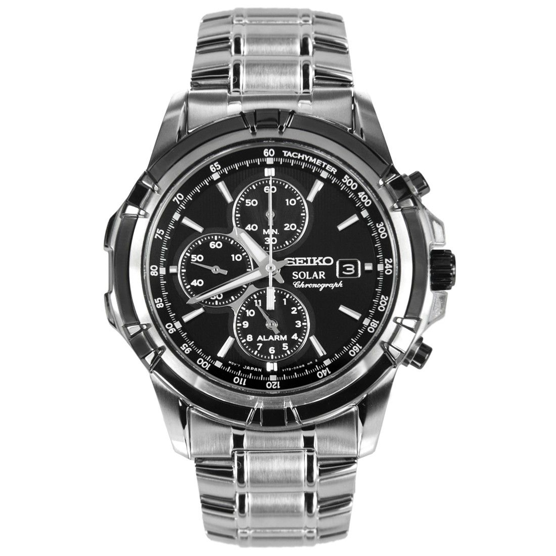 125f1ed54 Buy Seiko Solar Chronograph Mens Sports Watch SSC147P1 SSC147P SSC147  online at Special Price.Free Shipping USA Singapore Australia Malaysia New  Zealand