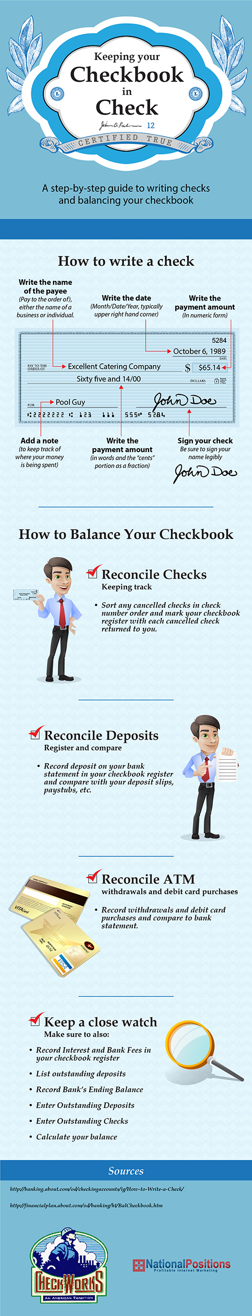 Blank Check Template Teaching Teens How To Manage Money Cash A Check