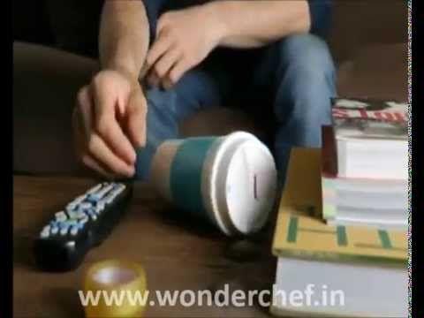 Wonderchef | Contigo Morgan | Autoseal Mug - YouTube