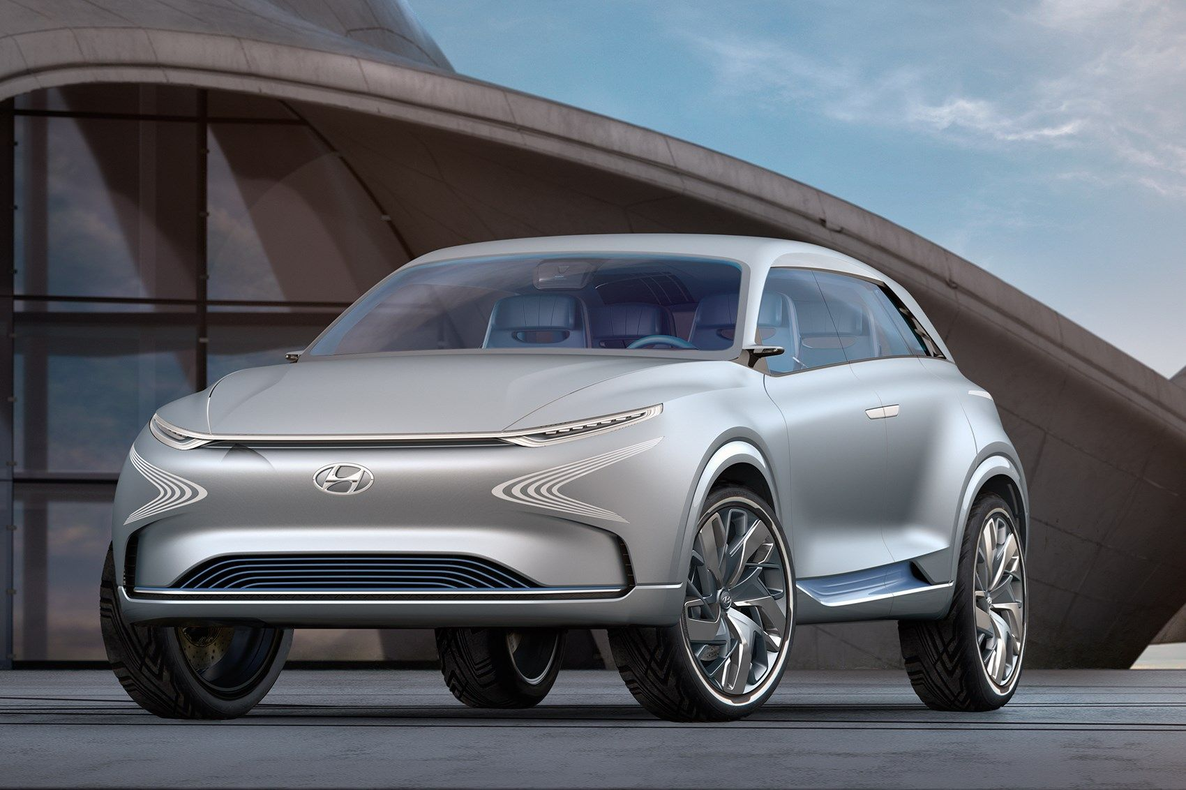 Hyundai FE Fuel Cell concept (With images) New hyundai