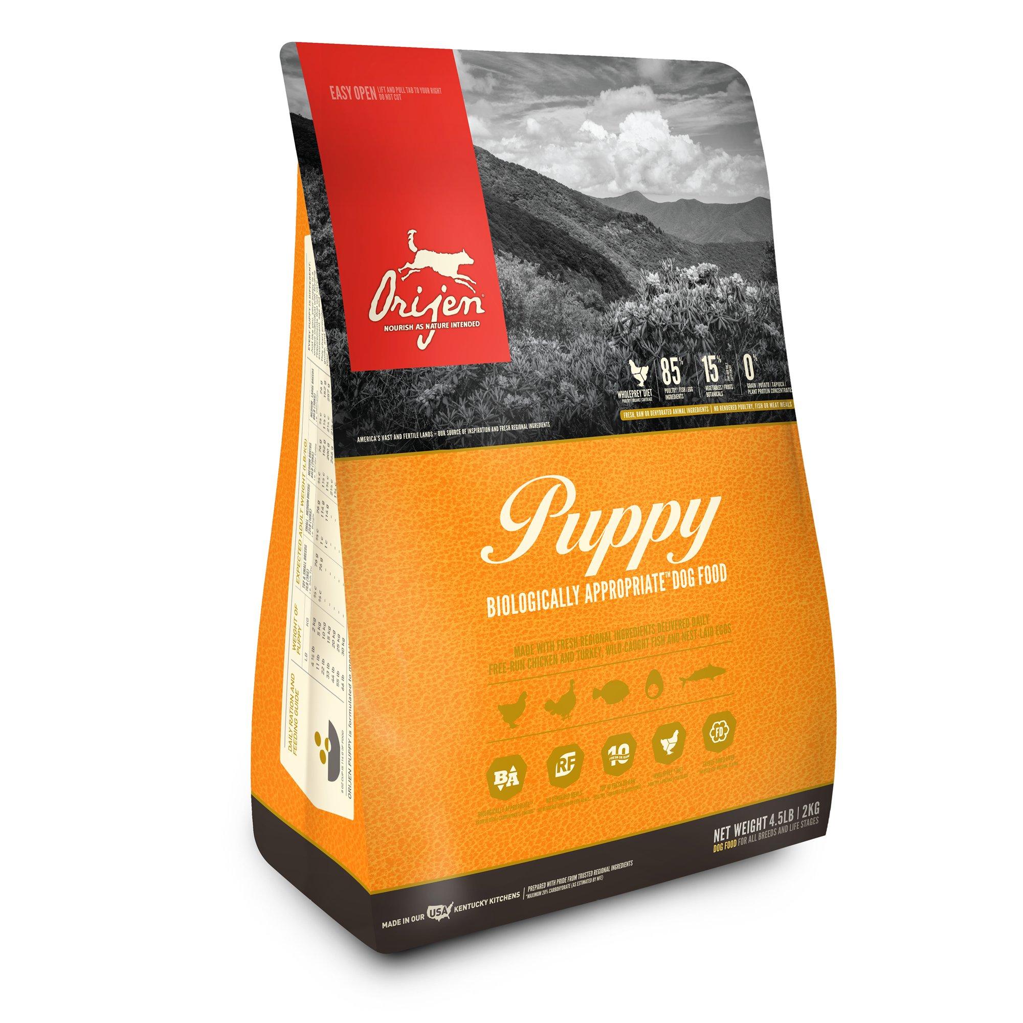 Orijen Puppy Dry Dog Food 4 5 Lbs Dry Dog Food Dog Food