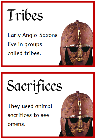 Anglo Saxons Fact Cards Treetop Displays Printable Eyfs Ks1 Ks2 Classroom Displays Primary Teaching R Anglo Saxon Facts Anglo Saxon History Anglo Saxon